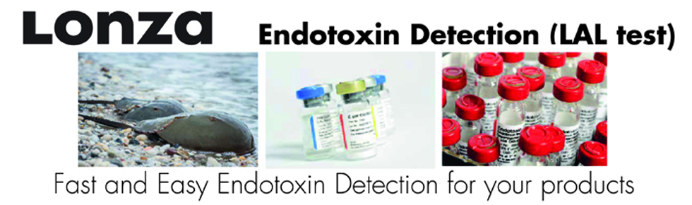 Endotoxin Detection (LAL test)<br />